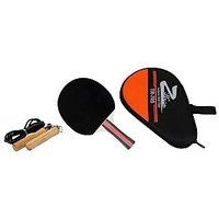 Zillion Table Tennis Racket With Wooden Handle Jump Rope (TTR-705+JR-101)