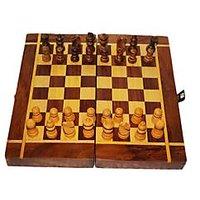 Chess Wooden Gift Item Kids Set Children Play Game Home Kitchen Decor Unique