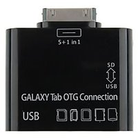 5 In 1 USB Card Reader Writer OTG Camera Connection Kit For Samsung Galaxy Tab 10.1, 8.9, 7.7 & 7.0 P7500 P7510 P7300 P7310 P6200 P6210