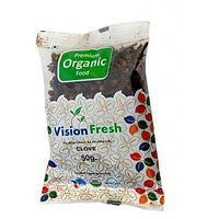 Vision Fresh Organic Clove (Long) ( Whole) 50 Gms
