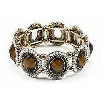 Fancy Stretch Bracelet-Pearl Stone Studded Bracelet-By Astin Karma
