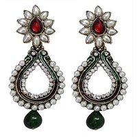 Trendy Multicolour Earrings - 10027