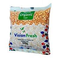 Vision Fresh Organic Chana Dal 500 Gms