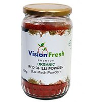 Vision Fresh Organic Red Chilly Powder 300 Gms