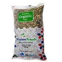 Vision Fresh Organic Green Gram (Moong Split) 1 Kg