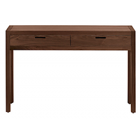Afydecor Console Table With Conical Wooden Legs