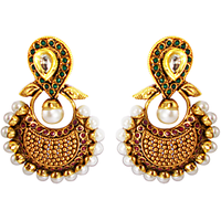 Ornativa Nice And Pretty Kundan Earrings