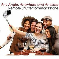 New Cable Take Pole Selfie Handheld Stick - For IPhones 4 / IPhone 5 / 5s / 6