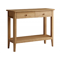 Afydecor Console Table With Spacious Storage Space