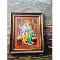 "Radha Krishna Photo Frame, 12"" X 18"""