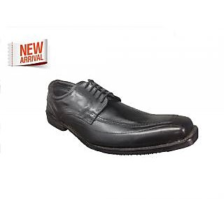 Pointed Men's Artificial Leather Casual Shoes Black
