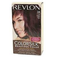 Revlon ColorSilk NO.-34 (Deep Burgundy) Ammonia Free