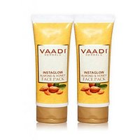 Vaadi Value Pack Of 2 INSTAGLOW ALMOND FACE PACK (120gmx2)