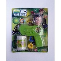BEN 10 Bubble Gun : Create Lots Of Bubble Now With BEN 10 :)  (Deal Price)