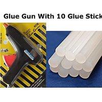 Combo Offer - Glue Gun + 20 Pcs Glue Gun Sticks