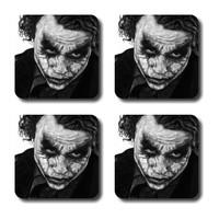 Anger Beast Stylish Square Coasters With Mirror Finish - Set Of 4 SB00028