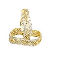 Joyas American Diamond Studded Elegant Bangle Set For Women_8B931200_2.4