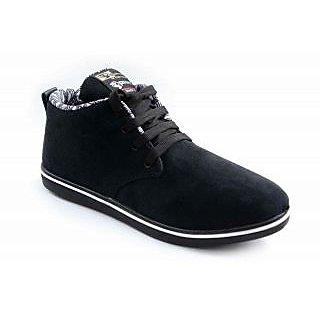 Men's Canvas Casual Shoes Black
