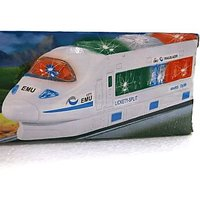 High Speed Train Toy With Music And Led Light , Kids Battery Operated Train