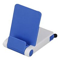 Mobile Stand With Detachable Stylus And Cleaner B34 Blue (Buy 1 Get 1 Free) - 73122918