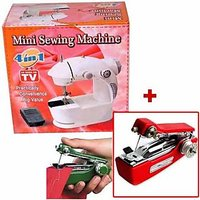 Mini Sewing Machine + Mini Hand Sewing Machine - 73135338