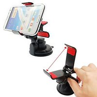 Shock Proof Universal Clip Type Car Mobile Holder For All Smartphone MP4 GPS
