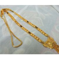 Macro Gold Plated Mangalsutra /Necklace/wedding Jewellery