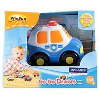Winfun Go Go Drivers Police Car