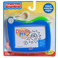 Fisher Price Doodle Pro Clip On - Blue