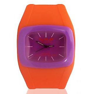 Wave London Drift Colour Burst Orange & Purple Watch (Wl-Cb-Oppl)