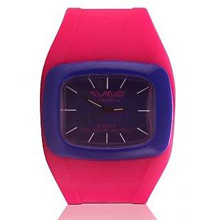Wave London Drift Colour Burst Pink & Blue Watch (Wl-Cb-Pkb)