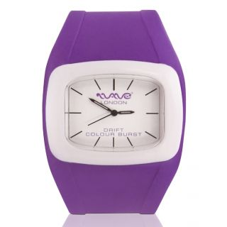 Wave London Drift Colour Burst Purple & White Watch (Wl-Cb-Pplw)