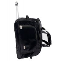 "20"" Duffel Bag With Trolley By Pragmus Innovation (Black) - 73227544"
