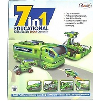 7 IN 1 EDUCATIONAL RECHARGEABLE SOLAR ENERGY KIT KIDS GIFT TOY