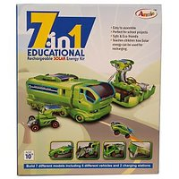 7 In 1 Educational  Rechargeable Solar Energy Kit