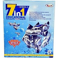 7-in-1 Educational Rechargeable Solar Energy Kit Science