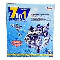 7 In 1 Educational  Rechargeable Solar Energy Kit Ser-2