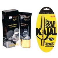 Revlon Touch & Glow LIquid Powder Foundation+ Kajal