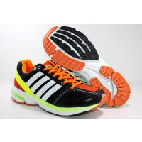 Adibon Running Sport Shoe Black/Green/Orange