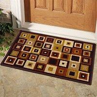 Status Multi-Coloured Taba Door Mat Buy 1 Get 1 Free (TABA DOOR MAT -2PC-CR847)