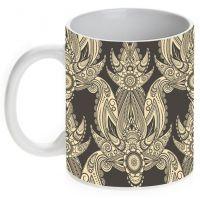 Prithish Ceramic Abstract Design 5 Mug 330 Ml