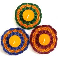 Set Of 3 Tea Light Holder, Candle Holder, Candle Stand, Tea Light Stand