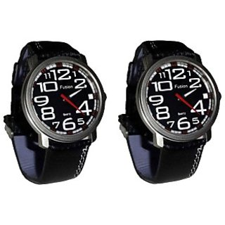 Buy One Fusion Watch ((Code: F-Big) Black And Get One Free. Buy One Get One Free