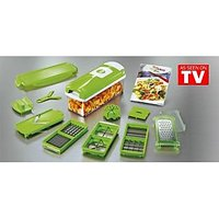 New Genius Nicer Dicer Plus As Seen On TV Multi Chopper 12 Pieces