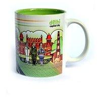 Coffee Mug Tea Delhi Theme Printed Ceramic Mug