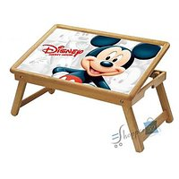 Mickey Mouse Multipurpose Foldable Wooden Study Table For Kids WDTB5