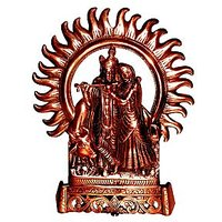 Radha Krishna In Antique Finish