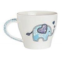 Mugs - Coffee / Tea Mugs - Ceramic Mug - Elephant - Moji Animals