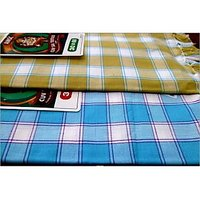 BATH TOWEL--COTTON TOWEL--A Set Of Two South Indian Towels-- Size 30 X 60 - 73587678