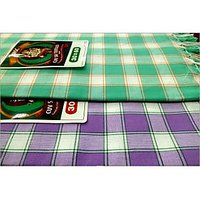 BATH TOWEL--COTTON TOWEL--A Set Of Two South Indian Towels-- Size 30 X 60 - 73588540